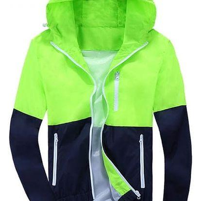 Pánská jarní bunda zelená, velikost 2