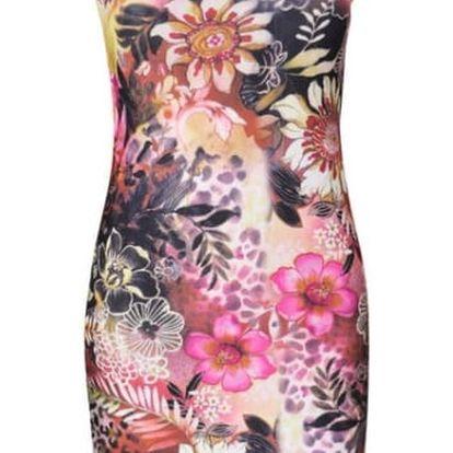 Veselé letní mini šaty s různými motivy - Varianta 1, velikost 6