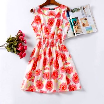 Rozmanité letní šaty - vzor: 11 - velikost: 3