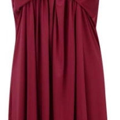 Dámské večerní šaty - červená, velikost 3