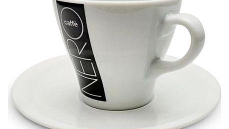 Skleničky a šálky Nero Šálek s podšálkem, cappuccino