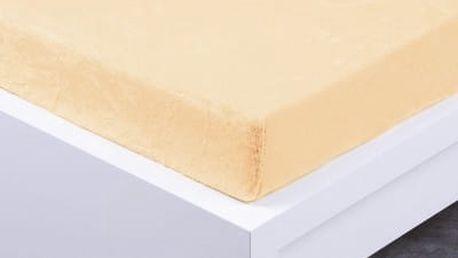 XPOSE ® Prostěradlo mikroflanel Exclusive dvoulůžko - vanilková 200x220 cm