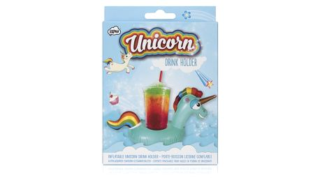 Nafukovací držátko na pití NPW Inflatable Unicorn