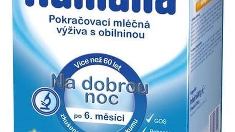 HUMANA na dobrou noc s prebiotiky (600 g) - kojenecké mléko