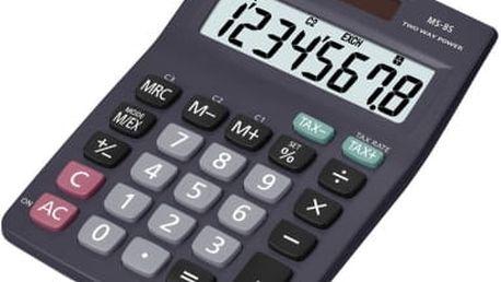 Kalkulátor Casio MS 8(B)S