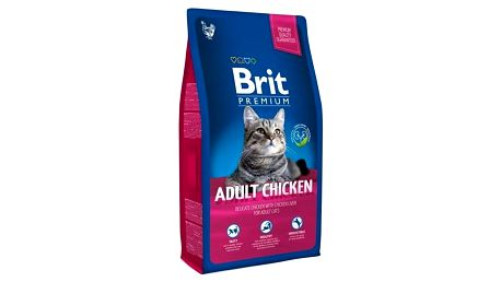 Granule Brit Premium Cat Adult Chicken 8kg