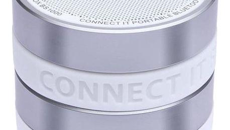Bezdrátový reproduktor CONNECT IT BOOM BOX BS1000 (CI-823), Bluetooth, bílá