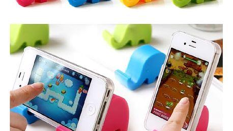 Stojánek na mobil ve tvaru slona