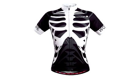 Pánské cyklistické triko s hrudními kostmi - Velikost 4