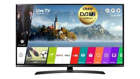 Televize LG 49UJ635V černá