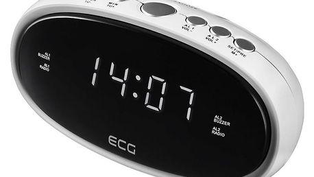 Radiobudík ECG RB 010, bílá