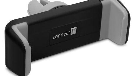 CONNECT IT InCarz Airframe univerzální držák na mobilní telefon do auta na větrací mřížku - CMC-1010-BK