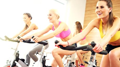 10 lekcí spinningu ve Fitness Olgy Šípkové