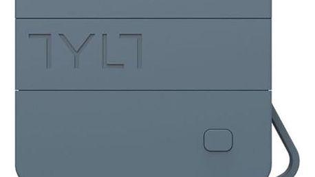 Externí napájecí zdroj TYLT Cestovní nabíječka a powerbanka 2v1, USB výstup a kabel micro USB), černá/šedá MICNRG6TCGY-EUK