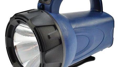 Svítilna Solight LED nabíjecí svítilna, 3 W LED, černá/modrá WN16