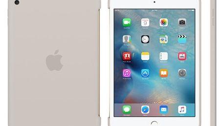 Pouzdro na tablet Apple iPad mini 4 Silicone Case (MKLP2ZM/A), světle šedé