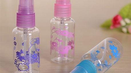 Sada flakónků na parfém - 3 kusy