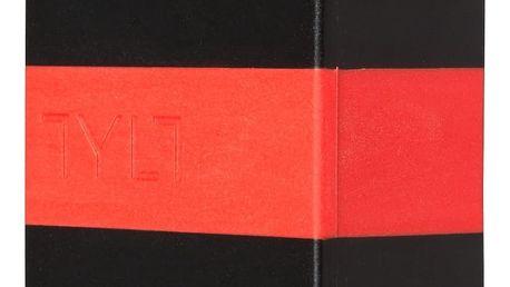 Nabíječka k mobilnímu telefonu TYLT Cestovní nabíječka Dual USB, 4,2A, červená (Red) USBTC42RD-EUK
