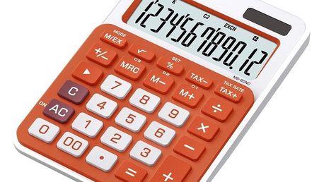 Kalkulátor Casio MS 20 NC/RG Orange