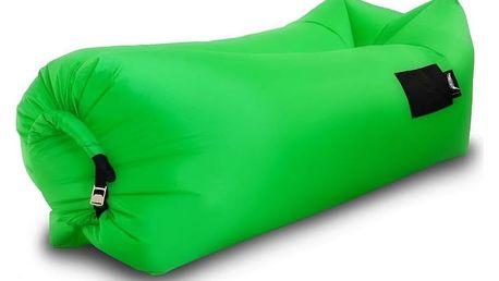 Sedací nafukovací vak BANANA BAG zelená