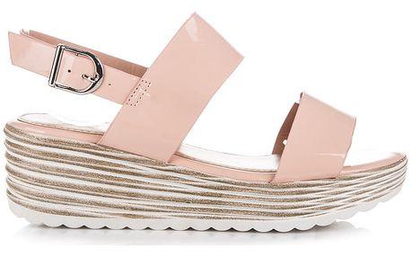 Sandály na platformě 3A399CA 40