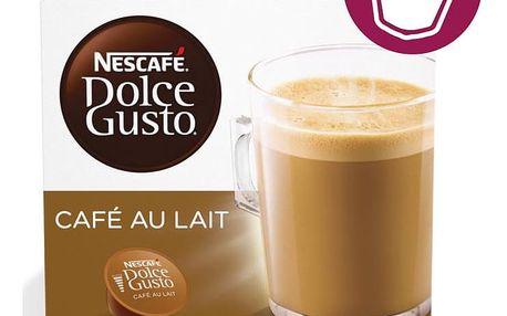 Kávové kapsle NESCAFÉ DOLCE GUSTO Cafe Au Lait 16 ks
