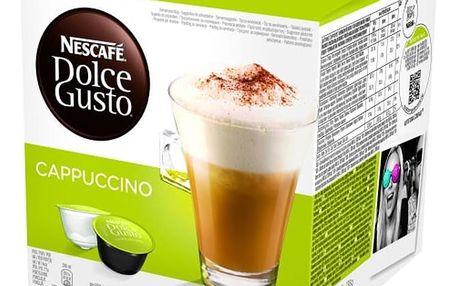 Kávové kapsle NESCAFÉ DOLCE GUSTO Cappuccino skinny-light 8 ks