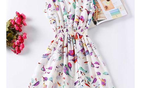 Rozmanité letní šaty - Vzor: 4 - Velikost: 3 - dodání do 2 dnů