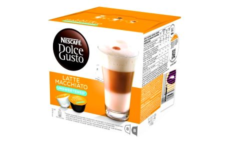 Kávové kapsle NESCAFÉ DOLCE GUSTO Latté Macchiatto unsweet 8 ks