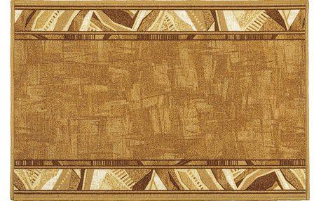 Vopi Kobercový běhoun Corrido béžová, 80 x 200 cm
