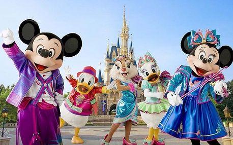 4denní zájezd do pohádkového Disneylandu a Paříže s ubytováním a snídaní pro 1