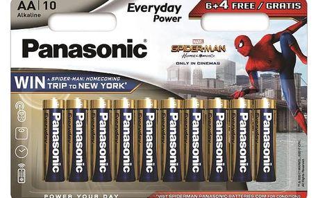 Baterie Panasonic Everyday Power, AA, 6 + 4 ks
