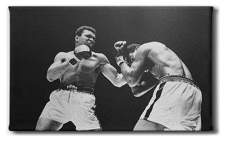 GLIX Muhammad Ali - obraz na plátně 60 x 35 cm