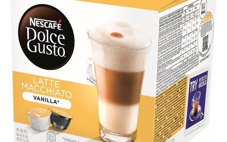Kávové kapsle NESCAFÉ DOLCE GUSTO Latte Macchiato Vanilla 8 ks