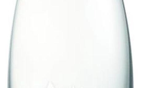 Světlerůžová skleněná lahev ReTap s doživotní zárukou, 500ml