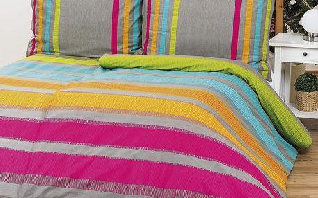 Bedtex povlečení ELLE oranžové bavlna , 140 x 200 cm, 70 x 90 cm