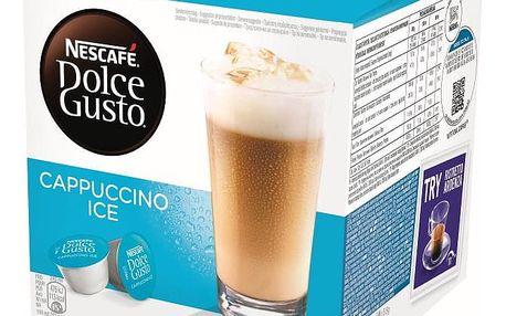 Kávové kapsle NESCAFÉ DOLCE GUSTO Cappuccino Ice, 8 + 8 ks