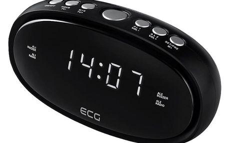 Radiobudík ECG RB 010, černá