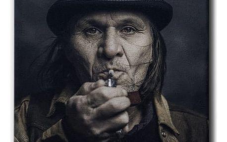 GLIX Portrait de Rue - obraz na plátně 40 x 50 cm