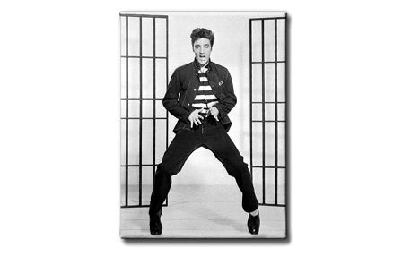 GLIX Elvis Presley - obraz na plátně 40 x 50 cm