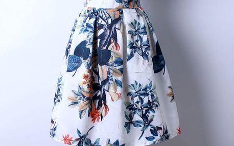Skládaná delší sukně - varianta 19 - dodání do 2 dnů