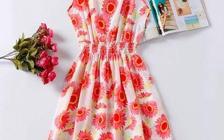 Rozmanité letní šaty - vzor: 11 - velikost: 3 - dodání do 2 dnů