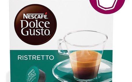 Kávové kapsle NESCAFÉ DOLCE GUSTO Espresso Ristretto 16 ks
