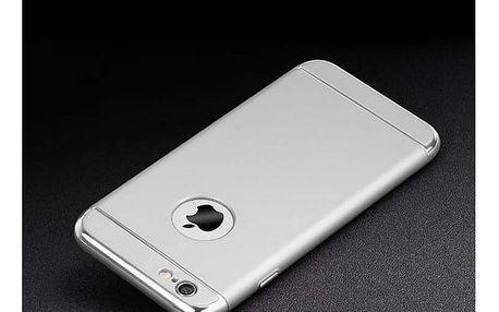 Elegantní ochranné pouzdro pro iPhone - stříbrná - iPhone 6/6S