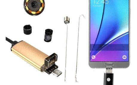 Kvalitní USB endoskop pro mobilní telefony a PC
