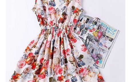 Rozmanité letní šaty - Vzor 7, Velikost 1 - dodání do 2 dnů