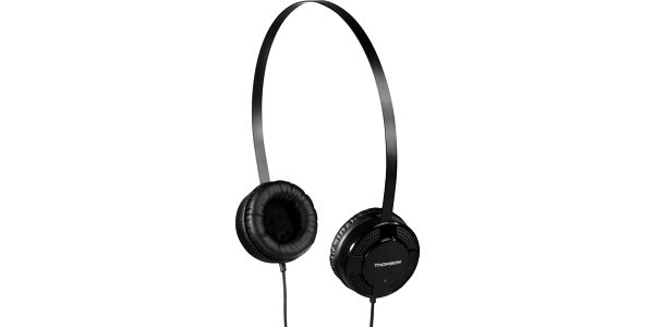 Sluchátka THOMSON HED1123, on-ear, černá