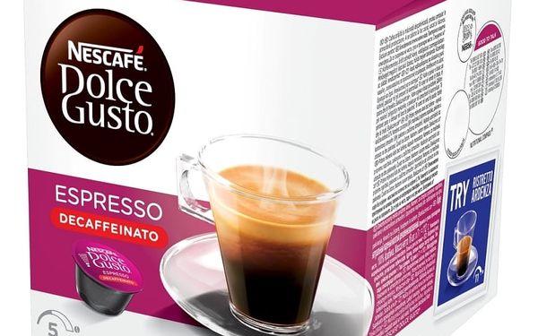 Kávové kapsle NESCAFÉ DOLCE GUSTO Espresso bez kofeinu 16 ks
