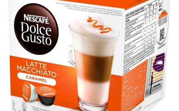 Kávové kapsle NESCAFÉ DOLCE GUSTO Latte Macciato caramel 8 ks