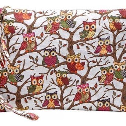 Malá kabelka se sovičkami - 5 barev